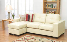 L Shaped Sectional Sofa With Chaise Tufted Gray Fabric Sectional Sofa With Wide Chaise Lounge Of