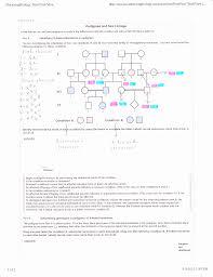 inheritance pattern quizlet solved part b determining genotypes in pedigrees of x lin