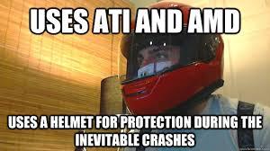 Amd Meme - ati amd protection memes quickmeme