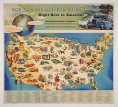 A Map Of The United States Of America you can see all the world right here in america
