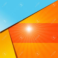 photo collection abstract blue lights orange
