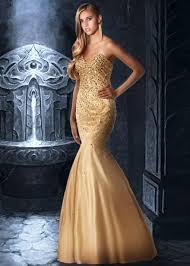 gold wedding dress gold mermaid wedding dress dresscab