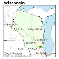 map of lake geneva wi lake geneva wisconsin cost of living