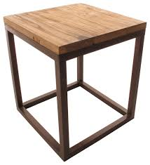 Large Side Table Chunky Wood Furniture Josep Homes Collection