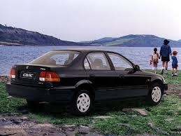 honda civic sedan specs 1995 1996 1997 1998 1999 2000