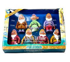 chagne gift set vintage 1992 snowwhiteandthesevendwarfs gift set color change