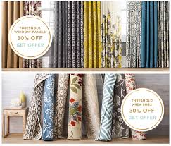 target carthweel deals 30 off window panels u0026 area rugs 40