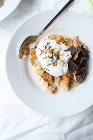 virtualeasterparty coconut oat granola with chocolate and