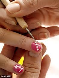 woman catches hiv after having her nails done using shared