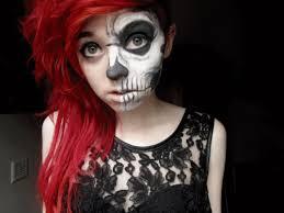 Cool Scary Halloween Costumes Sweet Scary Halloween Makeup Cool Halloween