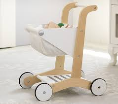 wooden shopping cart pottery barn kids