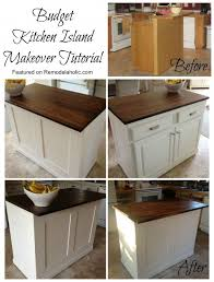 Small Kitchen Makeovers On A Budget - best 25 kitchen island makeover ideas on pinterest peninsula