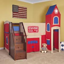 Hidden Room Bunk Beds Loft Bed With Hidden Room Bunk Bed Slide Attachment