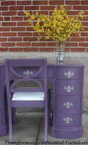 Repainting The Vanity Painted Desk Painted Vanity By Transformations Painted Furniture