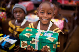 have you heard of operation christmas child project inspired