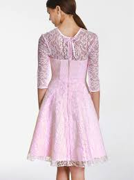 pink vintage lace bridesmaid dresses cherry marry