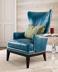 peacock blue chair peacock blue leather green notebook