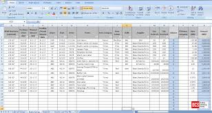 How To Do Excel Spreadsheets How To Maintain Fabric Trim And Accessory Record In An Excel