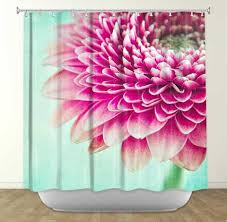 Colorful Fabric Shower Curtains Floral Shower Curtain Shower Curtains With Flowers Flower