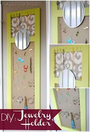 Jewelry Storage Solutions 7 Ways - best 25 homemade jewelry holder ideas on pinterest homemade