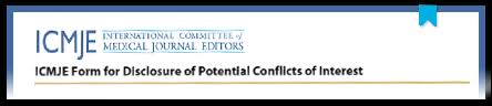 icmje conflicts of interest