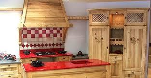 cuisine style montagne cuisine style montagnard meilleur idées de conception de maison