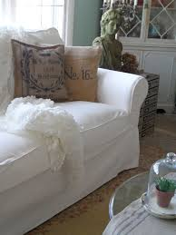 White Slipcover Sofa by Furniture Exciting Ektorp Sofa Cover With High Quality Materials