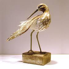 sandpiper preening wooden bird coastalhome co uk wooden birds