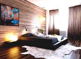 Modern Platform Bed With Lights - bedroom elegant modern bedroom idea with low black platform bed