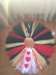 queen of hearts diy tutu lucille u0027s 7th birthday pinterest