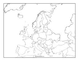 map of europe free this blackline master features a map of europe free to