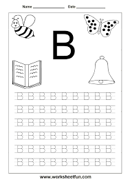 Free Alphabet Tracing Worksheets Printable Alphabet Letters For Tracing Boxfirepress