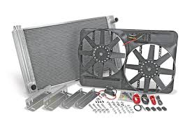 electric radiator fans flex a lite universal radiator with fan kit best price on
