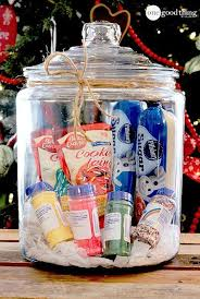 gifts in a jar simple inexpensive and fun basket ideas