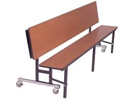mobile convertible bench cafeteria table 8 u0027 cafeteria tables