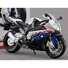 bmw motocross bike maisto 1 12 bmw s1000rr blue white assembly diy motorcycle bike