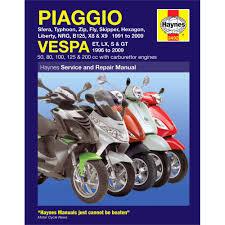 motorcycle manual piaggio vespa scooters 1991 2006 micksgarage