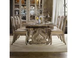 7 piece dining room table sets hooker furniture chatelet 7 piece dining set with refectory trestle