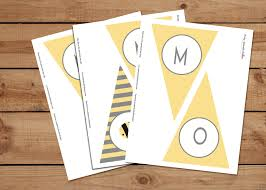 printable mom to bee baby shower party banners u2013 pretty adorable