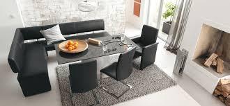 modern dining room sets dining room stunning modern corner dining set with l shaped black