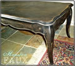 Painting Furniture Black by Faux Painting Furniture The