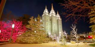experience the magical christmas lights on temple square in new