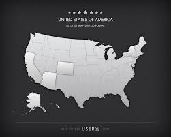 Map Of United States Vector by Plain Map Of Usa My Blog United States Map Vector Free Vector