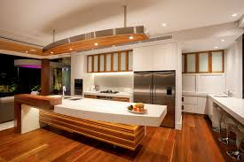 noosa home tropical kitchen sunshine coast by paul clout