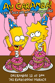 art birthday invitations best 25 simpsons party ideas on pinterest party banners donut
