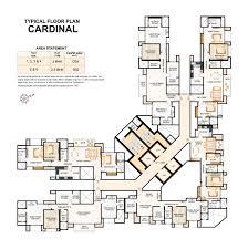 Bonanza House Floor Plan by Hiranandani Cardinal Realty Bonanza