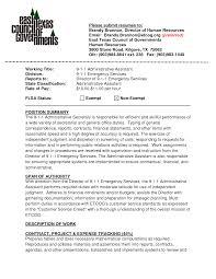 sr administrative assistant resume