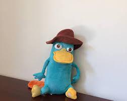 Perry Platypus Halloween Costume Perry Platypus Etsy