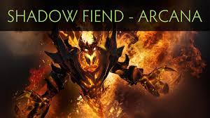 Eater Heat Map Dota 2 Shadow Fiend Demon Eater Arcana Item Youtube
