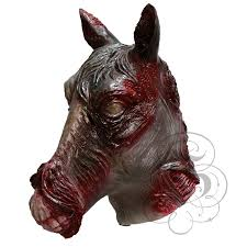game of thrones white walker zombie horse mask for halloween